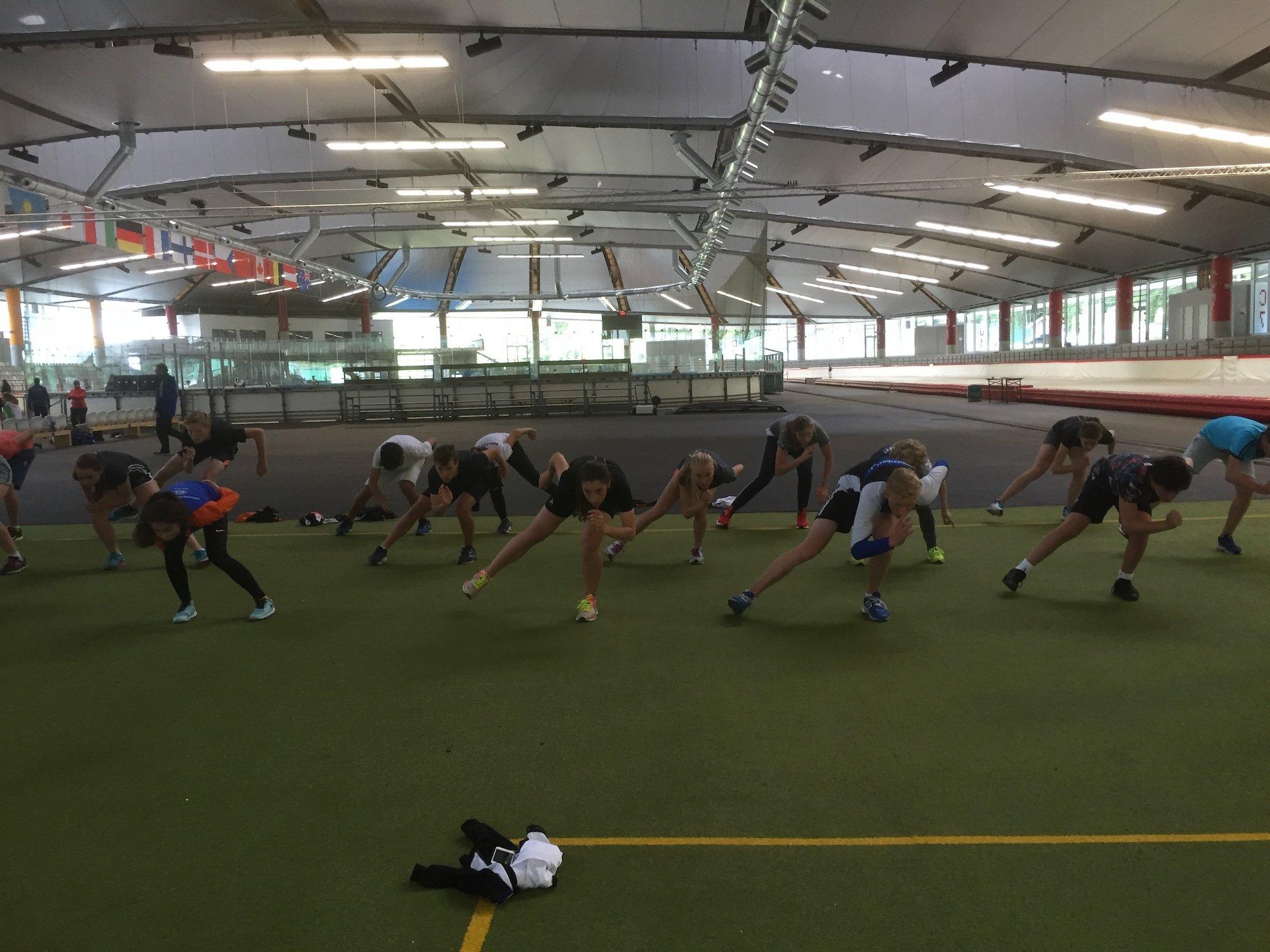 Veel deelnemers techniekweken aan de start bij NK junioren